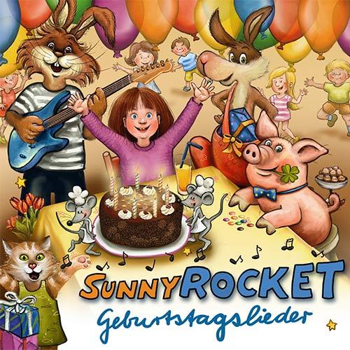 Sunny-Rocket-Geburtstagslieder